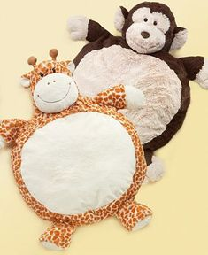The monkey plush mat