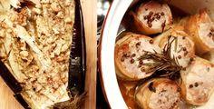 Baaardzo lubię bakłażany. W szczególności bakłażany pieczone. do tego polędwiczki zawijane w boczek i mamy pyszny obiad :)  http://kateskitchen.pl/pieczony-baklazan/