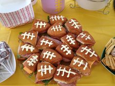 LSU football party sandwiches