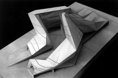 Chiesa a tor tre teste a roma, 2010 by Peter Eisenman Folding Architecture, Parametric Architecture, Concept Architecture, Futuristic Architecture, Architecture Details, Landscape Architecture, Chinese Architecture, Landscape Design, Therme Vals