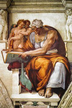 Michelangelo, Cappella Sistina, Roma, Italy