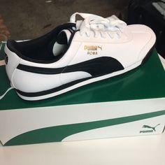 69a2442ec Puma Shoes | Puma Roma Basics | Color: Black/White | Size: 10.5
