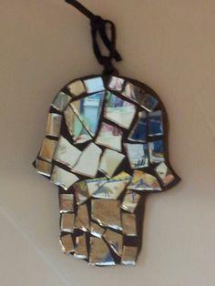 Hamsa mirror