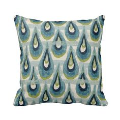 Chloe Zippered Throw Pillow Cover by by PrimalVogueHomeDecor