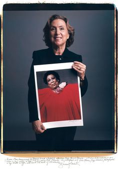 Barbara_Bordnick  by Tim Mantoani - Behind Photographs (2012)   Famous photographers posing with their most iconic photographs.