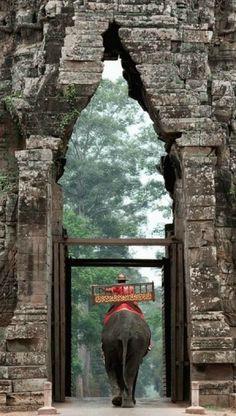 Angkor Wat - Cambodia - my favourite way to see a wonderful place :) Angkor Wat, Angkor Vat, Laos, Places To Travel, Places To See, Travel Destinations, Places Around The World, Around The Worlds, Travel Photos