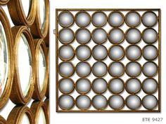 B2B Asiatides.com Luminaires & Miroirs > Miroirs > Miroir '36 Facettes' rondes - ETE.9427