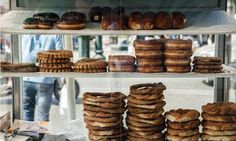 Athens' best street foods and stalls. Koulouri, a sesame-covered bread that makes a popular snack in Athens From guardian.co.uk/travel
