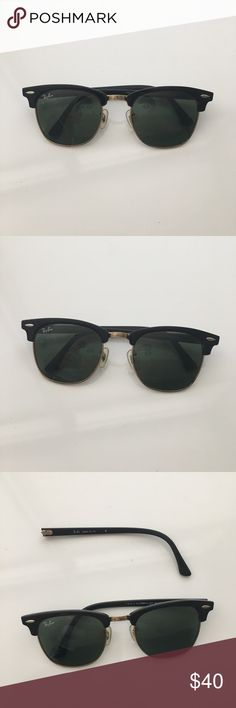 Ray Ban Clubmaster sunglasses As shown in picture, arm of sunglasses fell off but can be repaired. Ray-Ban Accessories Sunglasses
