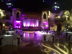 wide screen projection for wedding | Platinum DJ Productions: Add-On Packages