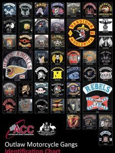 Outlaw Biker Gangs   email australia s 44 outlaw motorcycle gangs posted october 18