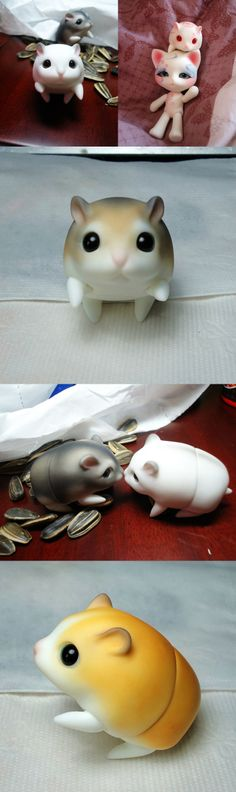 BJD's pet hamster Ball-jointed doll