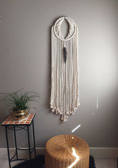 OOAK Macrame Wall Hanging Dreamcatcher by MoonshadowMacrame