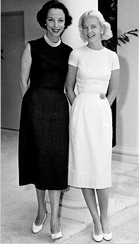 Gloria Guinness and C.Z. Guest