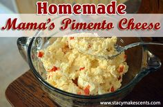 Out of all the homemade pimento cheese recipes in the world, this is the best one. My Mama's recipe. Dig in, y'all.