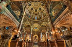 The Basilica of St. Josaphat Milwaukee, Wisconsin, USA