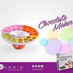 Disfruta en familia comiendo y empapando de chocolate tus frutas preferidas gracias a la máquina Chocolate Maker de #Blanik. http://ow.ly/XhnTZ