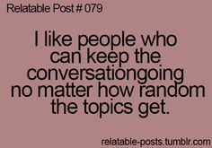 Those people are awesome. And I am one of those people , therefore I am most likely awesome