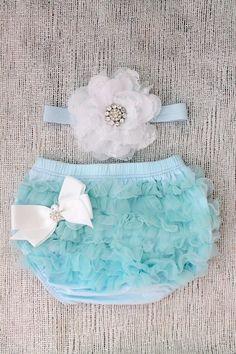 Baby Ruffle Bloomers set .. Lace Ruffle Bum by snazziebabyboutique, $26.00
