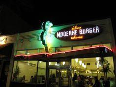 Moderne Burger - Vancouver, BC