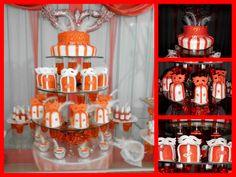 CAKE QUINCEAÑOS CON MINICAKES