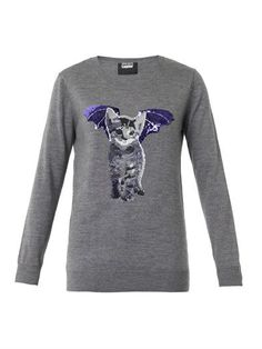 Natalie Cat-bat sequin sweater | Markus Lupfer