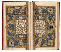 Qur˒an from Kashmir | Qur˒an from Kashmir | The Morgan Library & Museum-Qur˒an from Kashmir Qur˒an, in Arabic Northern India, Kashmir ca. 1800 On paper 185 x 100 mm Gift of the Trustees of the William S. Glazier Collection, 1984 MS G.69, fols. 235v–236r