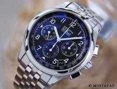 Zenith El Primero 02 0500 400 Swiss Made Men's SS Chronograph Watch 2010