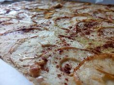 Tarte de maçã (sem açúcar, sem farinha e sem qualquer tipo de gordura)