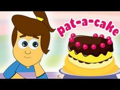 Popular Nursery Rhymes from HooplaKidz - Pat A Cake Nursery Rhyme Flower Cake Toppers, Fondant Flower Cake, Fun Songs, Kids Songs, Nursery Rhyme Theme, Nursery Ideas, Nursery Ryhmes, Turtle Cupcakes, Nursery Rhymes Collection