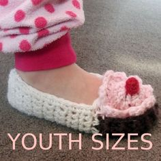 Cupcake Slippers Pattern