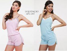 Ideias Fashion, Rompers, Dresses, Short Jumpsuit, Women's Sleepwear, Overall Shorts, Vestidos, Romper, Dress