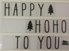 Happy A, Lightbox, Christmas Decorations, Decorating, Home Decor, Decor, Decoration, Decoration Home, Room Decor