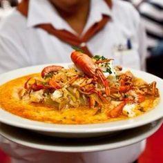 Chupe de camarones! - Peruvian cuisine