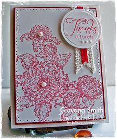 Heartfelt Creations Dahlia Bouquet cards - Google Search