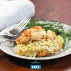 Delicious drop biscuits—quick and easy to make—are stuffed with scrambled eggs loaded with melted mozzarella cheese, a touch of feta, and plenty of fresh dill. On the surface, this may seem like a lot of work just for breakfast, but it actually couldn't be easier to prepare.