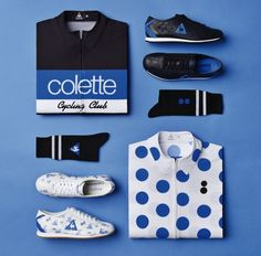 559281ff86f2 Le Coq Sportif x Colette capsule collection Cycling News