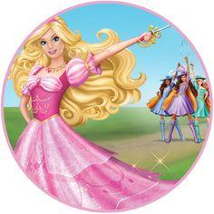 Rótulos da Barbie gratuito para imprimir - Dicas pra Mamãe