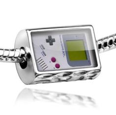 Neonblond Beads video game, 80's - Fits Pandora Charm Bracelet
