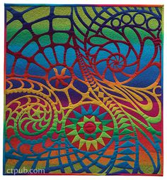 Quilt by Anna Faustino - made with fusible applique