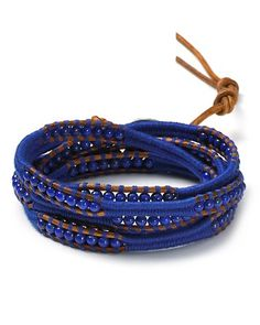 Chan Luu Lapis And Natural Thread Five Wrap Bracelet | Bloomingdale's