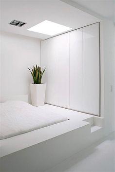 Beautiful Paris Apartment With White Interior Design Ideas