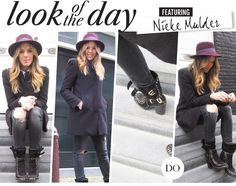 www.styleoftwo.com - STYLEofTWO look of the day www.amayzine.com #styleoftwo #amayzine #laurencedacade #essentiel Zine, Archive, Winter Jackets, Day, Casual, How To Wear, Fashion, Winter Coats, Moda
