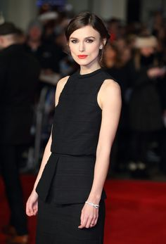 Keira Knightlys Red Carpet Make-Up - Get The Look - Yesterday, I had the pleasure of making up one of my favourite clients, the gorgeous Keira Knightley for the press junket and UK premiere of Jack Ryan: Shadow Recruit, an action thriller starring Keira, Chris Pine and Sir Kenneth Branagh (who's als...