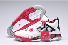 http://www.nikejordanclub.com/greece-nike-air-jordan-4-iv-free-womens-shoes-white-black-red.html GREECE NIKE AIR JORDAN 4 IV FREE WOMENS SHOES WHITE BLACK RED Only $95.00 , Free Shipping!