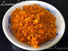 Garlic Chutney, Coconut Chutney, Easy Indian Recipes, Ethnic Recipes, Dry Coconut, Red Chili Powder, Bread Baking, Pickles, Macaroni And Cheese