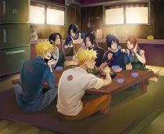 All in the Family Naruto Boys, Naruto Comic, Naruto Cute, Naruto Sasuke Sakura, Naruto Shippuden Sasuke, Naruto Funny, Itachi Uchiha, Anime Naruto, Anime Manga