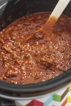 Crock-pot Bolognese Sauce