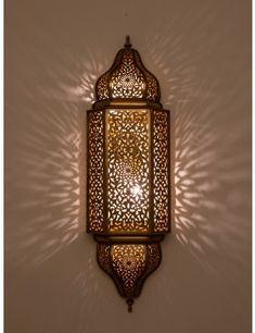JAMILA Wall Light Fixture for serene bath setting Modern Outdoor Wall Lighting, Outdoor Wall Lamps, Moroccan Lighting, Moroccan Lamp, Moroccan Lanterns, Moroccan Bathroom, Moroccan Tiles, Custom Lighting, Antique Wall Lights