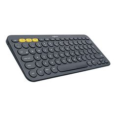 This Logitech Multi-Device Bluetooth Keyboard is in great condition. Apple Tv, Ios Apple, Logitech, Smart Auto, Pc Keyboard, Bluetooth Keyboard, Mac Laptop, Smartphone, Android